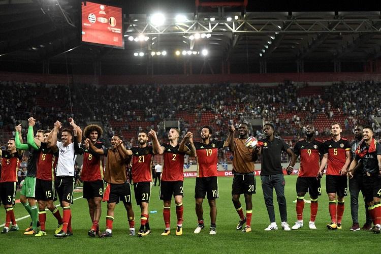 Переиграв греков, сборная Бельгия стала недосягаемой для соперников по отборочной группе и первой из зоны УЕФА квалифицировалась на ЧМ.